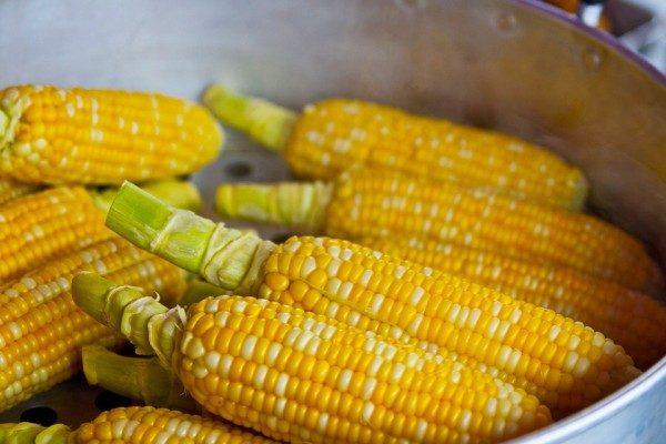 Кукуруза, овощи