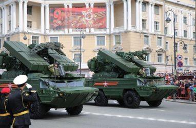 Во Владивостоке в преддверии празднования 75-летия Победы проведут восемь тренировок военного парада