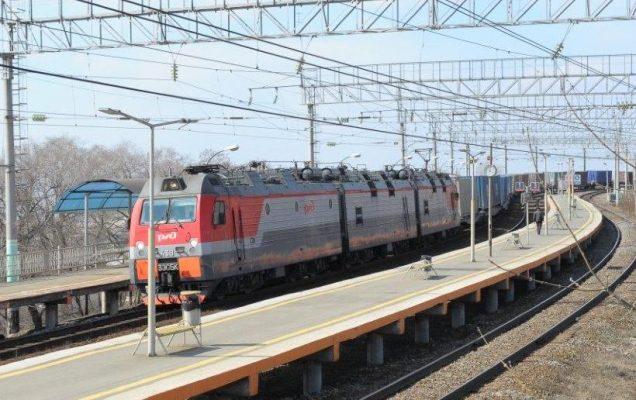 Железная дорога, РЖД, ДВЖД, локомотив, грузовой поезд