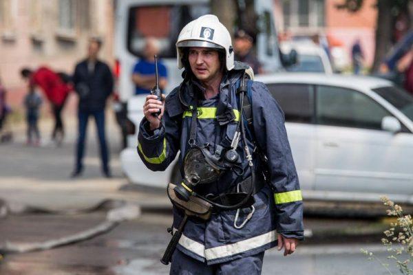 МЧС, пожарный