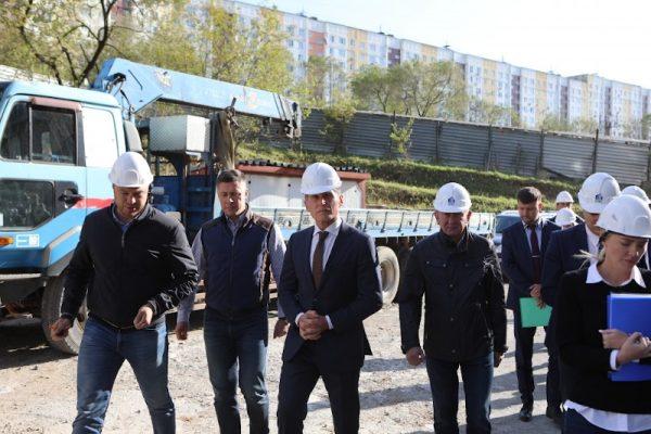 Олег Кожемяко, строительство