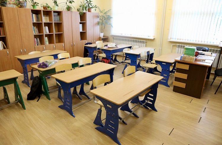 Школа, парты, учебный класс