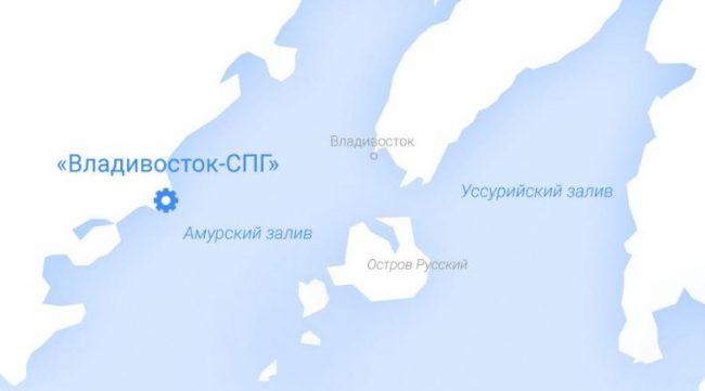 """""""Владивосток СПГ"""". Иллюстрация с сайта """"Газпрома"""""""