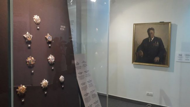 """Выставка """"За службу и храбрость. Награды России"""""""