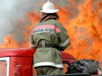 Пожар, огнеборец. Фото - пресс-служба Главка МЧС по Приморью