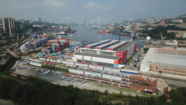 Порт Владивосток, Mazda, Золотой Рог