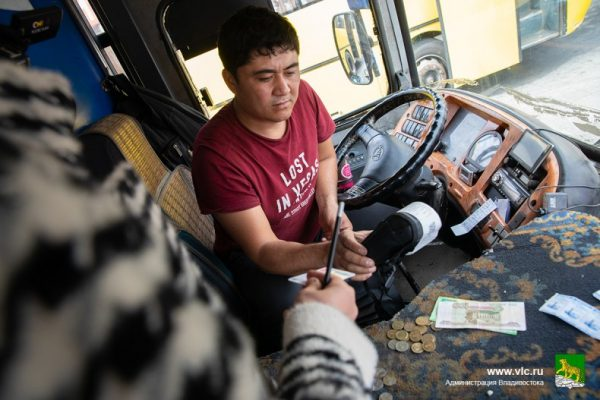 Водитель автобуса. Фото - Анастасия Котлярова