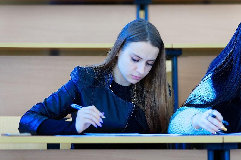 Студенты, молодежь, ДВФУ, учеба, диктант