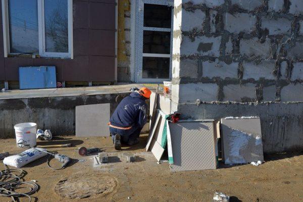 Строительство, рабочий