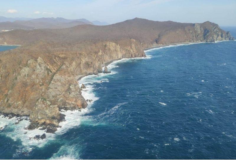 Японское море, берег
