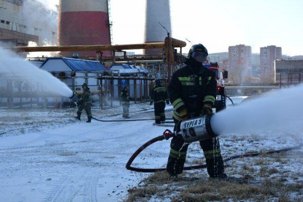 Пожарные, ТЭЦ