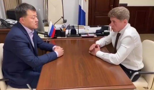 Олег Пак и Олег Кожемяко