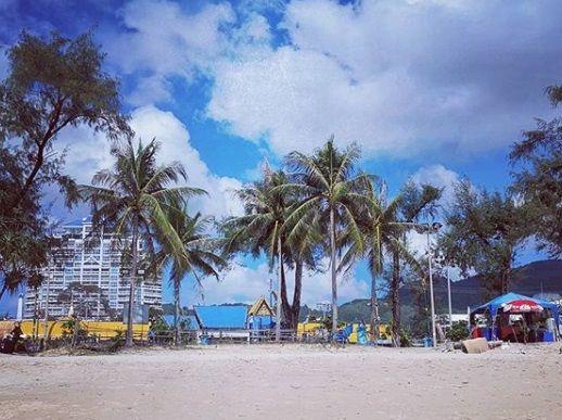 Таиланд, Пхукет, пальмы, пляж. Фото - Prim.News