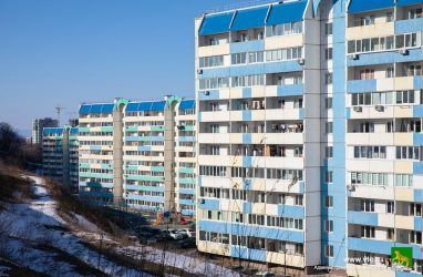 Объём ввода жилья в Приморье в 2019 году вырос лишь на 1%