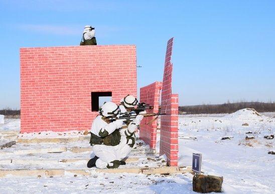 Стрелок, стрельба, солдат, военнослужащий, оружие. Фото - пресс-служба ВВО