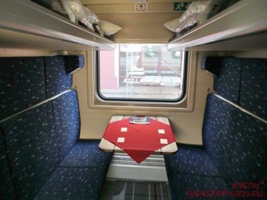 ФПК, поезд, купе