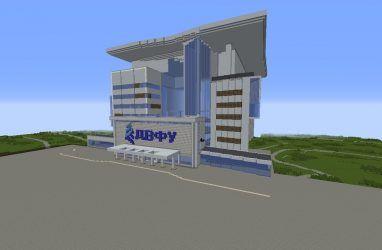 Кампус крупнейшего университета Дальнего Востока начали строить в Minecraft