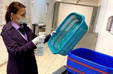 В аэропорту Владивосток усилили меры по предотвращению распространения инфекций