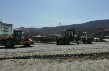 После критики губернатора Приморья дорожники сообщили о скором завершении работ во Врангеле