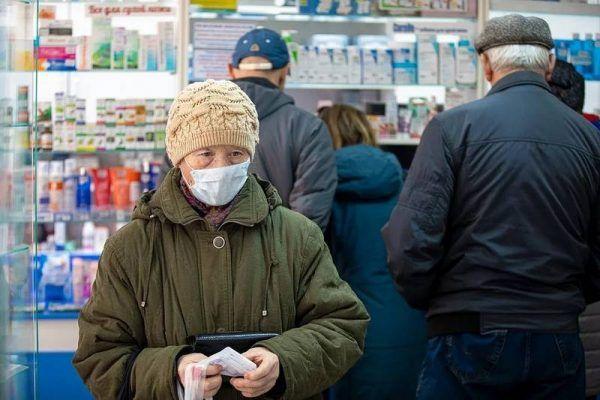 Аптека, маски, коронавирус
