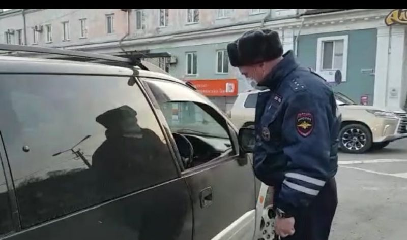 Полиция, ДПС, маска
