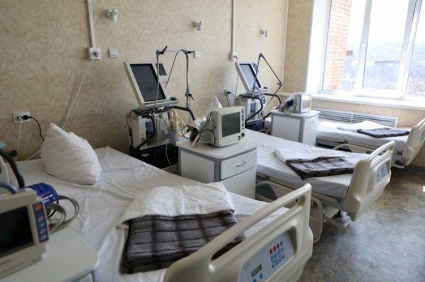Госпиталь для больных коронавирусом. Фото - Александр Сафронов (правительство Приморского края)