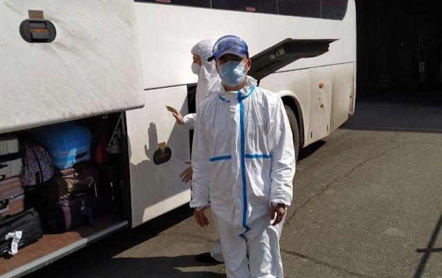 Китайцы, коронавирус, маска