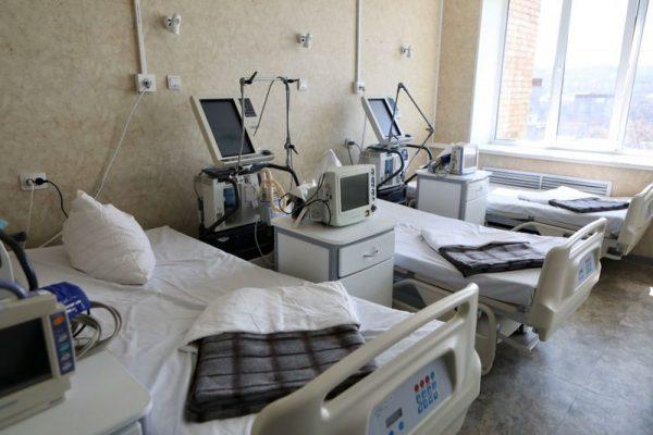 ИВЛ, койки, больница