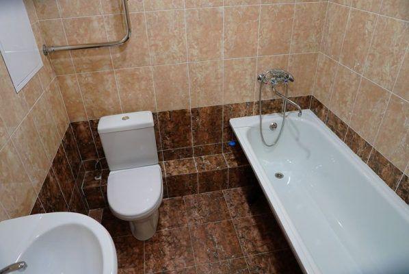 Жилой дом, жилье, ванная