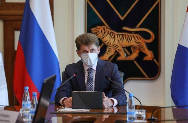 Олег Кожемяко. Фото - Игорь Новиков (правительство Приморского края)