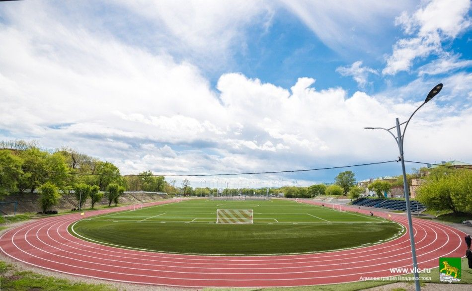 Стадион «Строитель». Фото - Евгений Кулешов