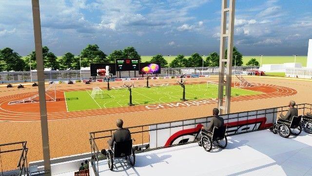 Стадион Авангард (проект реконструкции). Изображение - пресс-служба мэрии Владивостока