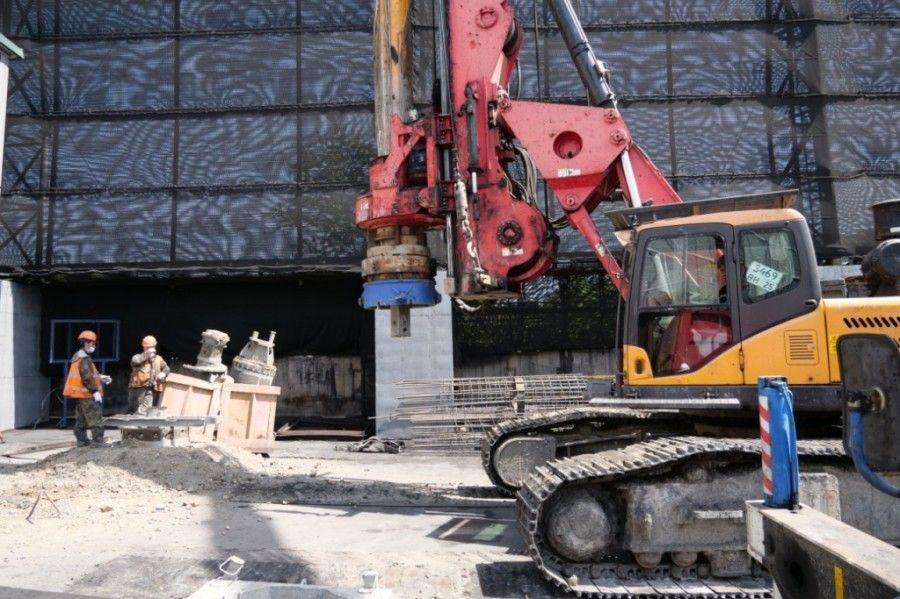 «Терминал Астафьева» начал строительство защитных сооружений от угольной пыли в Находке, угольная пыль, Находка. Фото - пресс-служба ОАО «Терминал Астафьева»