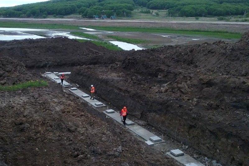 Реконструкция Кугуковское водохранилище в Уссурийске. Фото – министерство природных ресурсов и охраны окружающей среды Приморского края