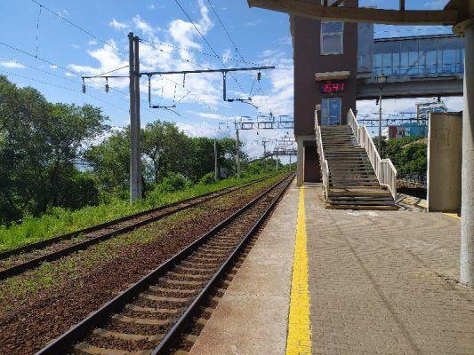 Перрон, станция Вторая Речка