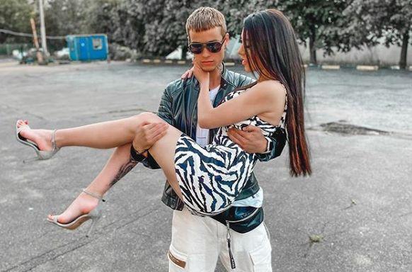 Алена Рапунцель и Максим Колесников