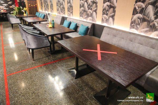 Кафе, ресторан, масочный режим
