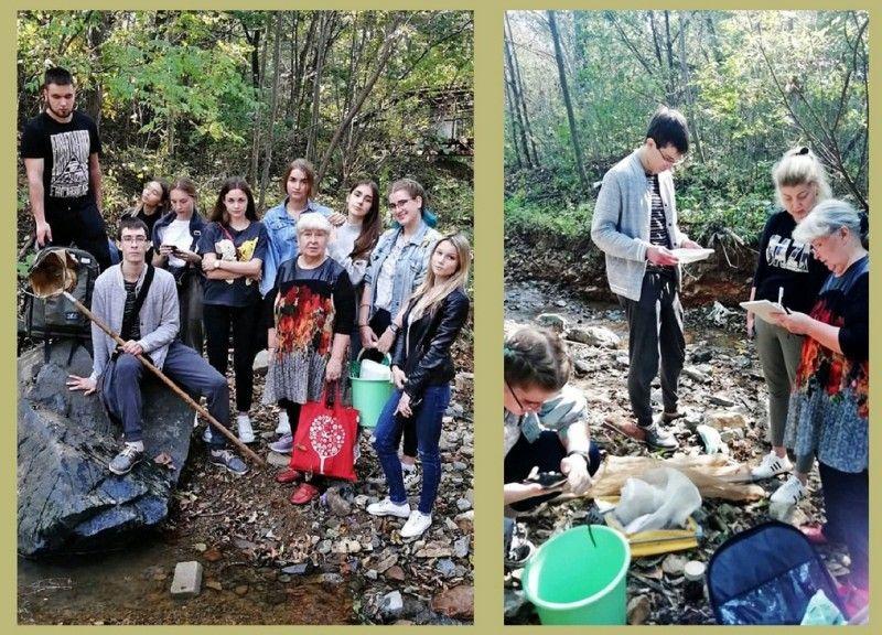 «Ревитализация Второй Речки», студенты-экологи. Фото - пресс-служба ВГУЭС
