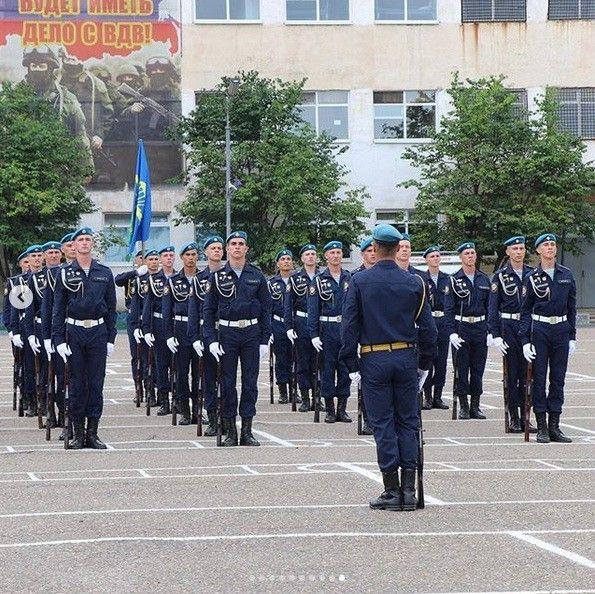 День ВДВ в Уссурийске. Фото - инстаграм-паблик администрации Уссурийска