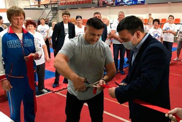 Школа бокса открылась на базе спорткомплекса «Руслан» в Находке. Фото - пресс-служба администрации Находкинского городского округа