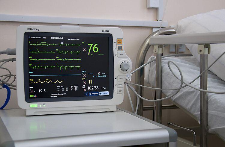 Кардиология, медицинское оборудование. Фото предоставлено Находкинской городской больницей