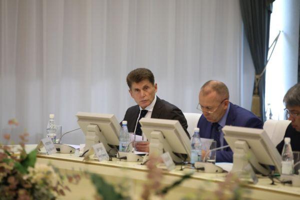 Олег Кожемяко. Фото – Игорь Новиков (правительство Приморского края)