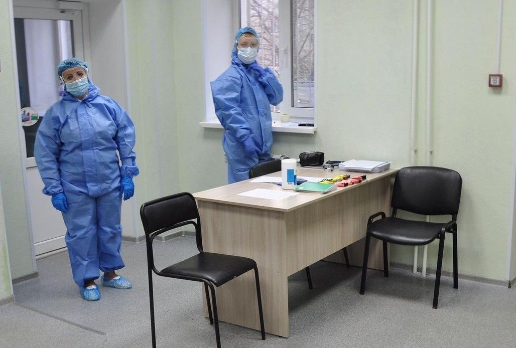 АИЦ, коронавирус, врачи