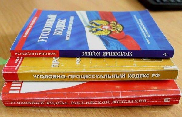 Уголовный кодекс. Фото - пресс-служба УМВД России по Приморскому краю