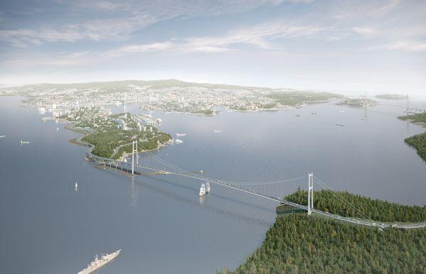 Мост на остров Елены