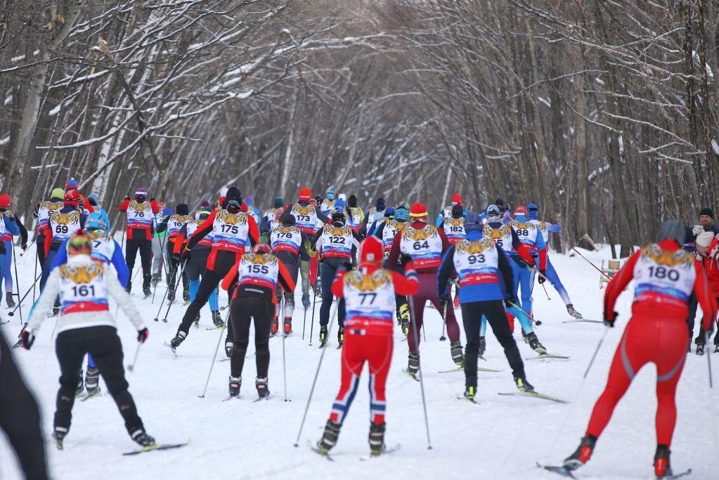 Ежегодный лыжный марафон «Сихотэ-Алинь», лыжный спорт, лыжники. Фото - Игорь Новиков (правительство Приморского края)