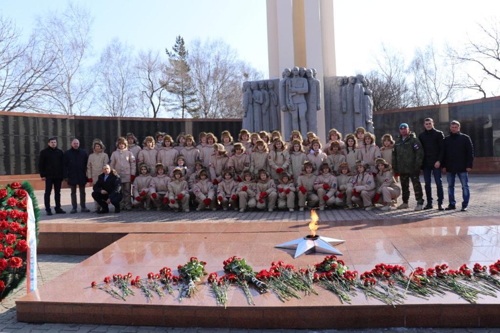 Вечный огонь в Уссурийске. Фото с сайта правительства Приморского края