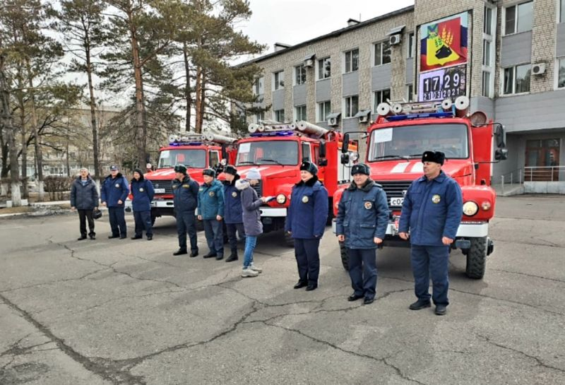 Пожарные автомобили