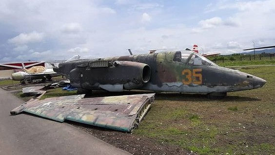 Су-25. Фотография инстаграм-паблика arstv
