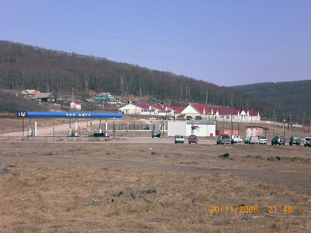 Село Амгу. Фотография Романвера с сайта wikipedia.org